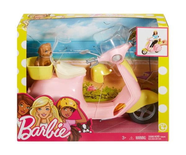 Кукла Barbie - Мотопед с кученце